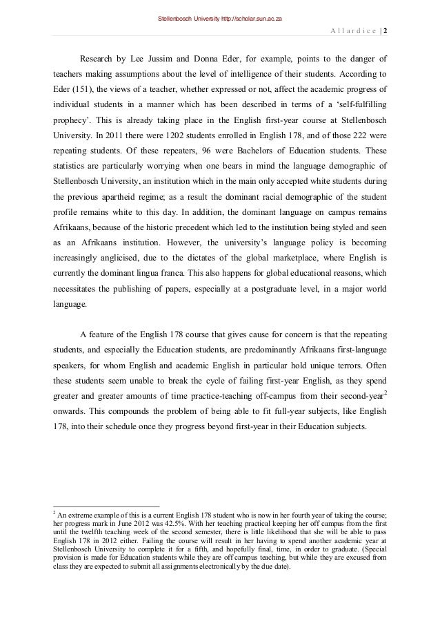 Research paper examples mla
