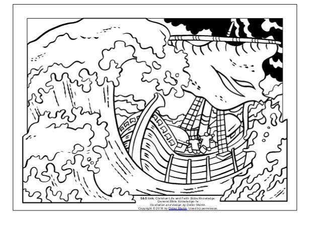 Coloring page- The acts of the apostles: Peace in the