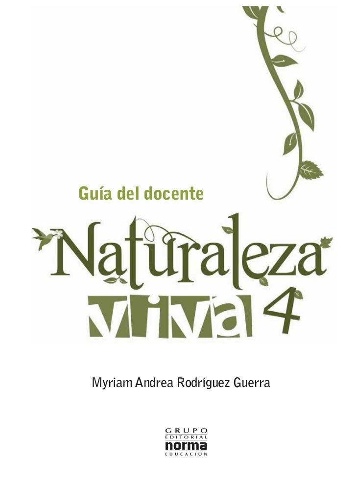 Guía del docente Myriam Andrea Rodríguez Guerra
