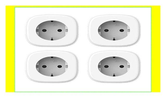 Meross Intelligente WLAN Steckdose Smart Plug Wi-Fi