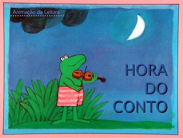 HORAHORA DODO CONTOCONTO Animação da Leitura