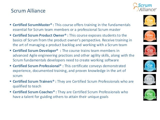 The Myriad faces of Agile Training & Certification