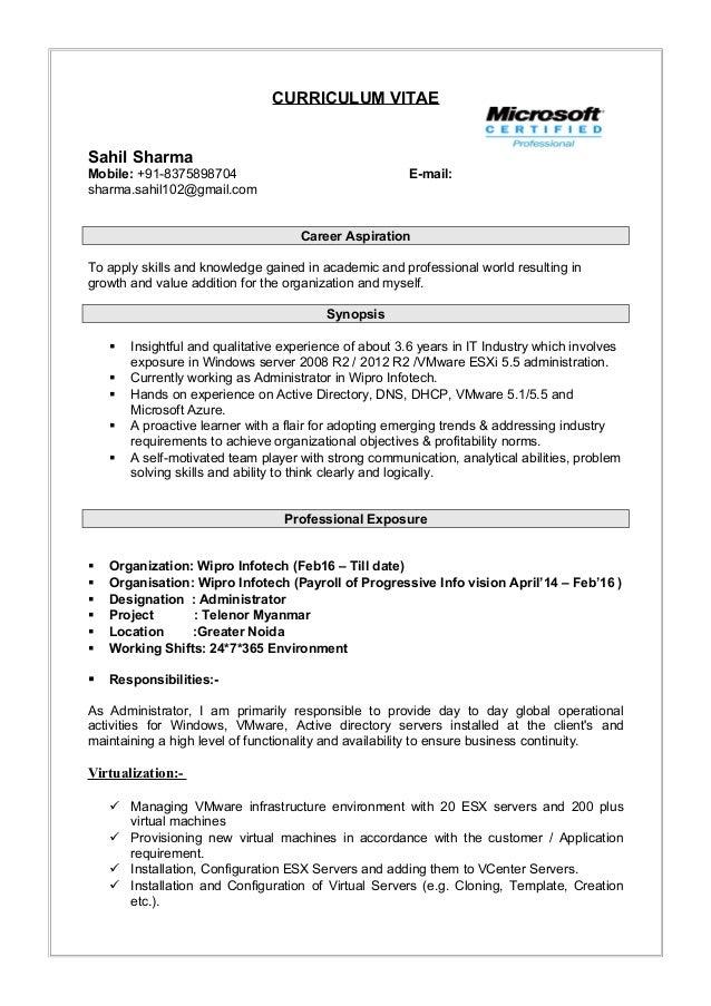 Resume Aug