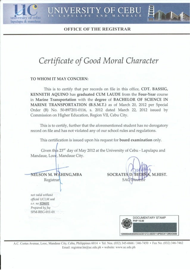 Letter of good moral character design templates certificate of good moral character 1 638cbu003d1436943578 thecheapjerseys Gallery