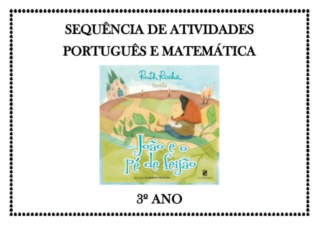 SEQUÊNCIA DE ATIVIDADES PORTUGUÊS E MATEMÁTICA 3º ANO