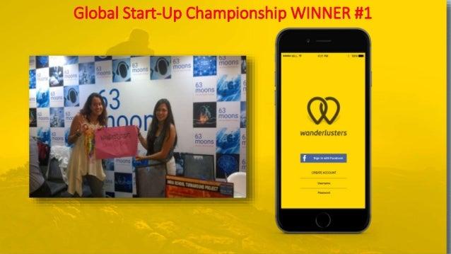 Global Start-Up Championship WINNER #1