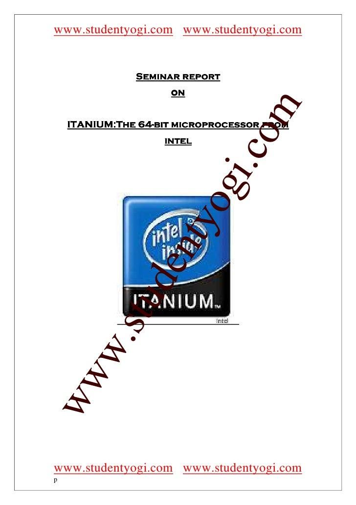 www.studentyogi.com www.studentyogi.com                  Seminar report                      on                           ...