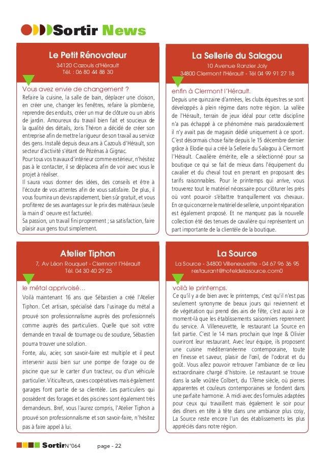 Magazine Sortit Coeur Hérault - Mars 2013
