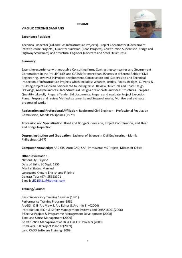 VCS Resume_May 2015