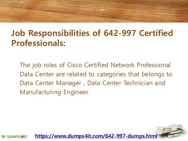 642-997 Cisco CCNP Data Center Exam Braindumps - Recommendations