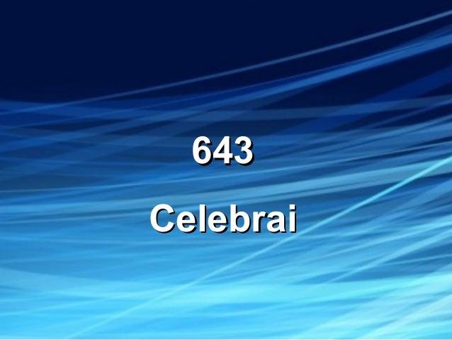 643643 CelebraiCelebrai