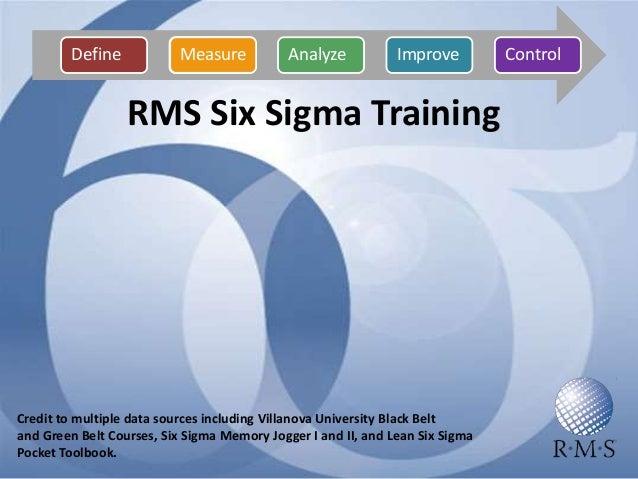 rms six sigma training 2010 final