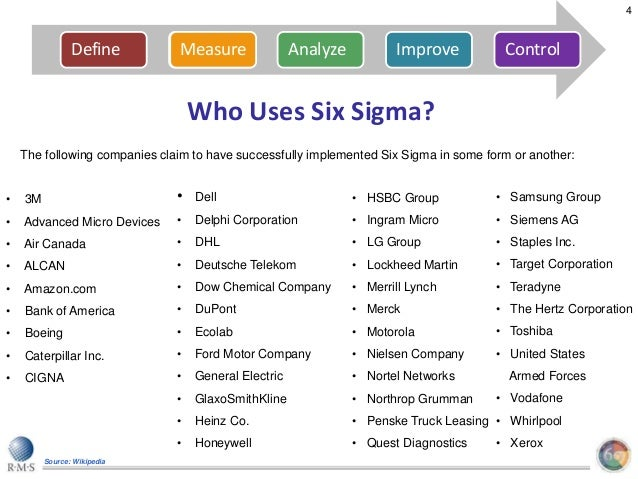 six sigma case study general electric Literature a case study detailing the application of the lean six sigma methodology to a call centre environment will also be describe d and analysed in order to address the research questions.