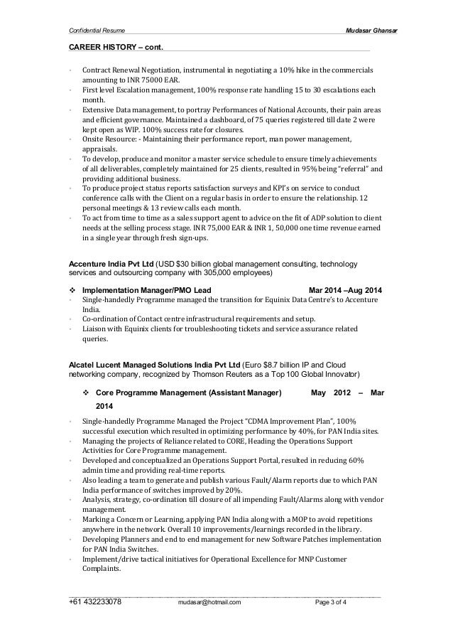 Mudasar Ghansar 2015 Resume Slide 3