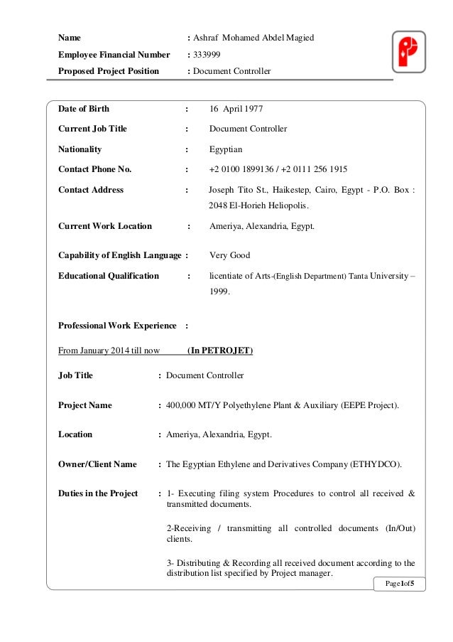 ashraf abdelmagied cv english
