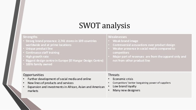 swot analysis of mango clothing Value chain of mango in the district swot analysis and pestec is done to present internal and external factors that supporting and hindering the development of postharvest handling system.