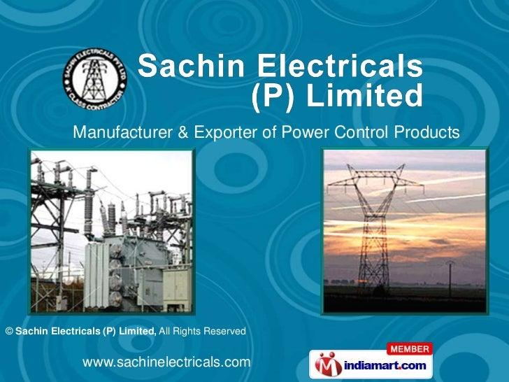 Manufacturer & Exporter of Power Control Products© Sachin Electricals (P) Limited, All Rights Reserved                www....