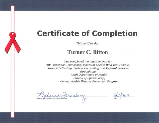 HIV AIDS Counselor Certificate