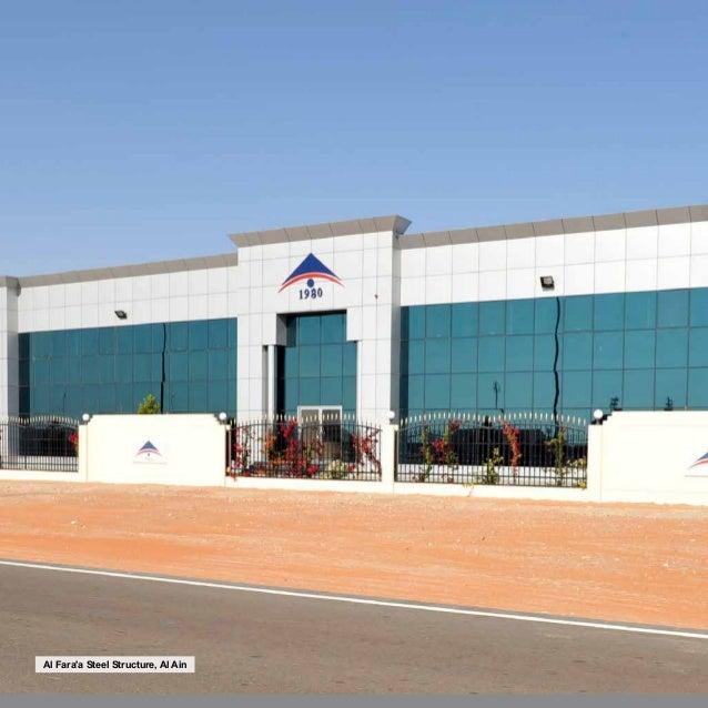 Al fara 39 a steel structure brochure 2015 2016 for Office 606 design construction llc