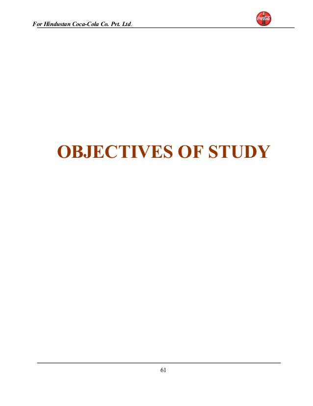 objectives of coca cola company This is a document for the analysis of the vision, mission and objectives of the coca cola company vision, mission and objectives of coca cola company as well as the analysis.