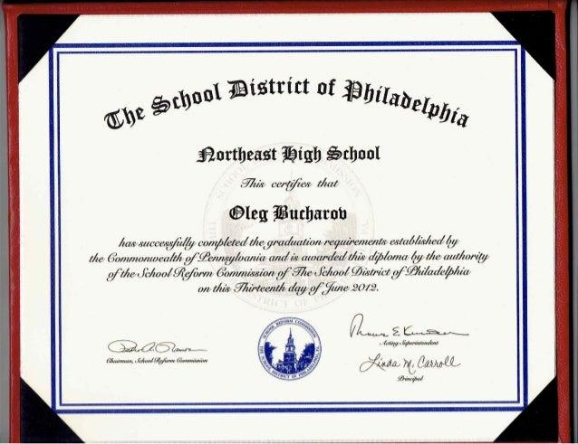 School Diploma & Certificates.Pdf