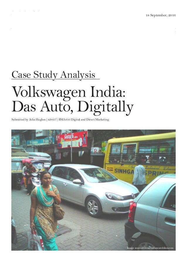 volkswagen in india case study seema gupta