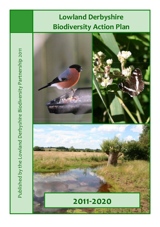 LowlandDerbyshire BiodiversityActionPlan 2011‐2020  PublishedbytheLowlandDerbyshireBiodiversityPartnership2...
