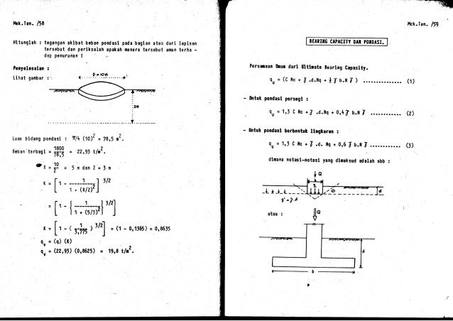 16 penyelesaian mekanika tanah 1c 33 ccuart Image collections