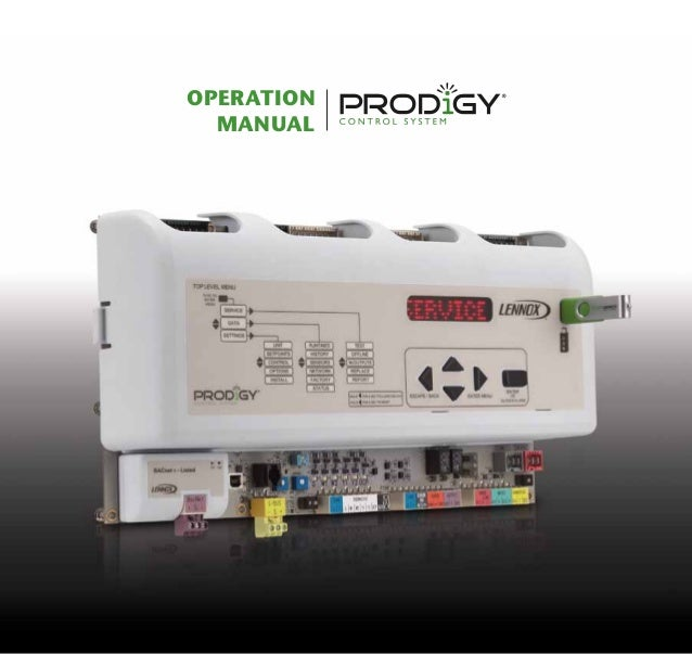Prodigy Control System Operation Manual