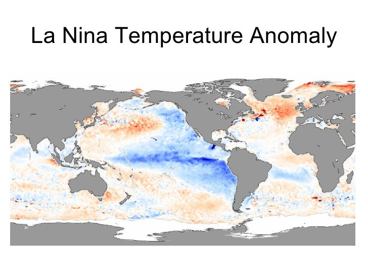 Impacts of El Nino • The impact of El Nino is felt most significantly and directly   along the western coast of S. America...