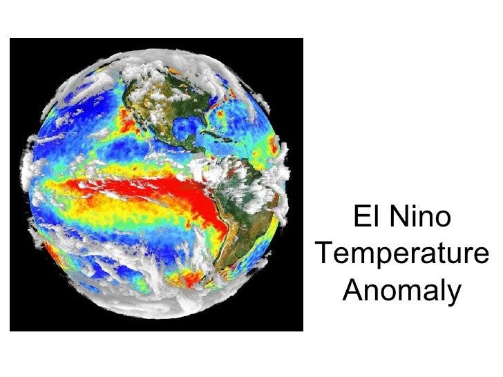 La Nina Temperature Anomaly