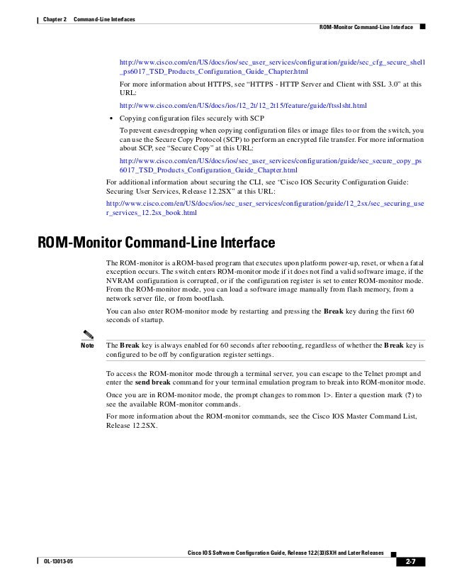 Cisco 6500 config