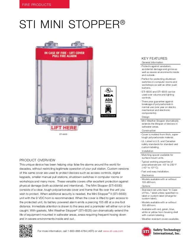 STI 6502 Data Sheet