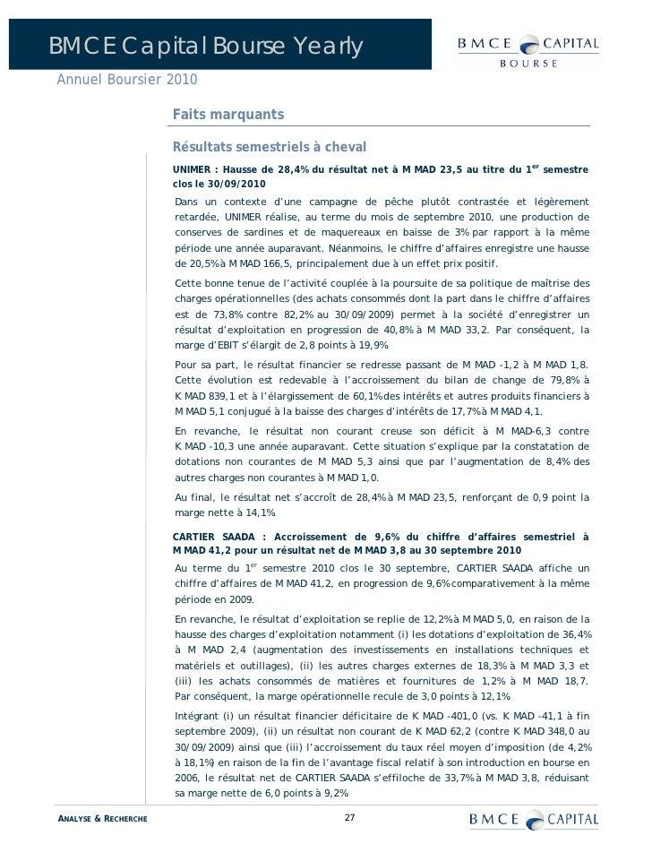 Bmce rapport annuel for Banque algerienne du commerce exterieur