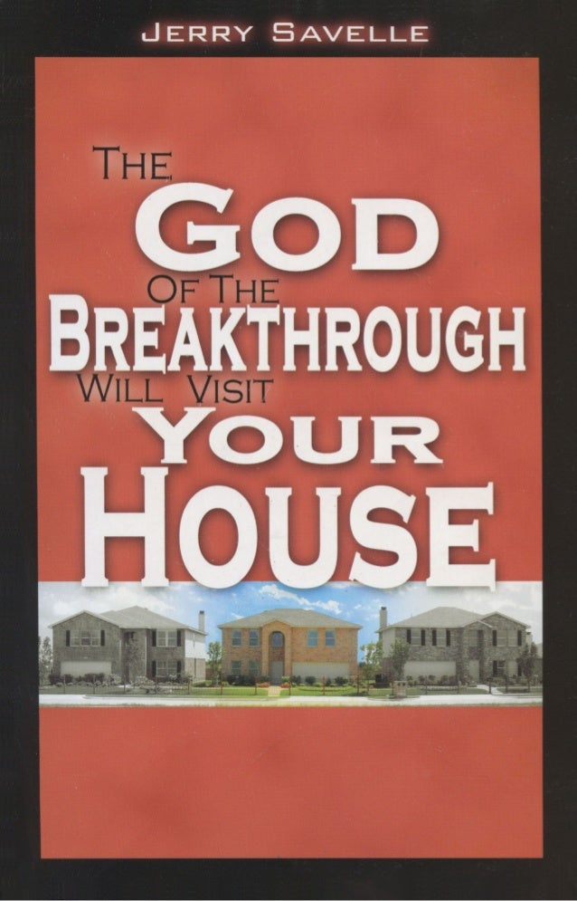 65107183 The God Of The Breakthrough Will Visit Your House