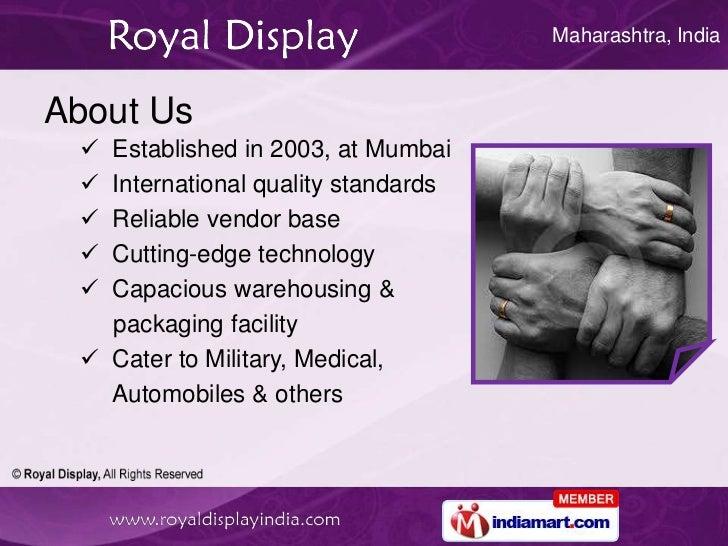 Tablet PC by Royal Display Mumbai Slide 2