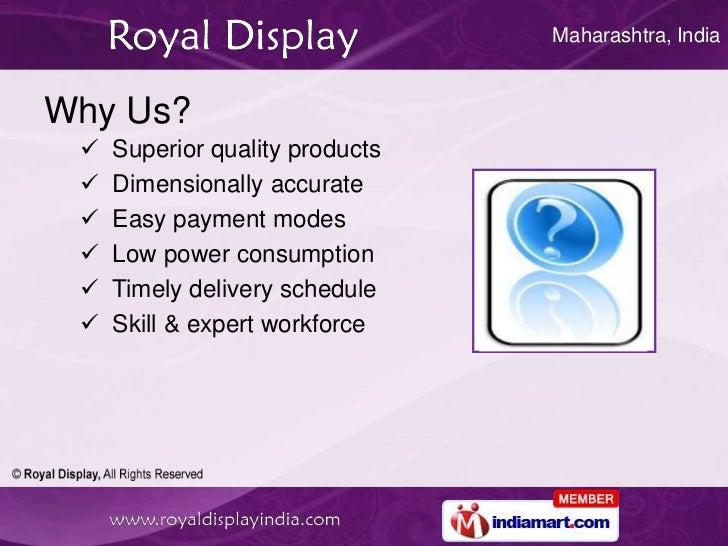 Tablet PC by Royal Display Mumbai Slide 3