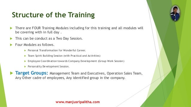proposal on training supervisors Proposal on training supervisors in this training proposal, i will outline a few of the problems and make suggestions to correct and implement them.