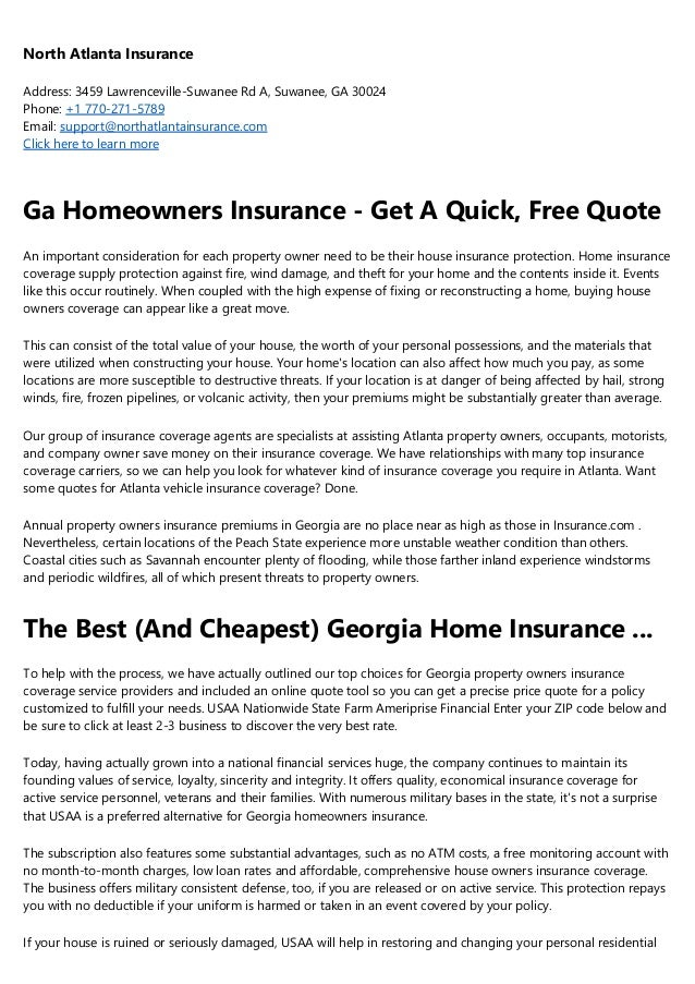 7 Things About Homeowners Insurance In Dahlonega Ga You Ll Kick Yours