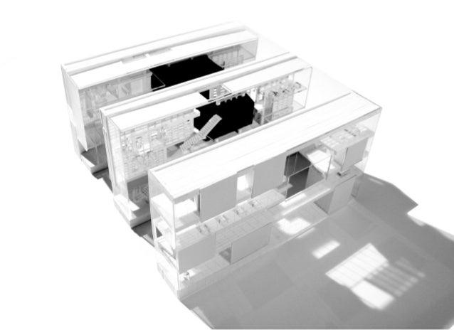 GL Maison du Cinéma Tuteur : Pierina Saia Les espaces s'organisent sous la forme de bandes programmatiques qui offrent des...