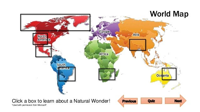7 Natural Wonders of the World 1