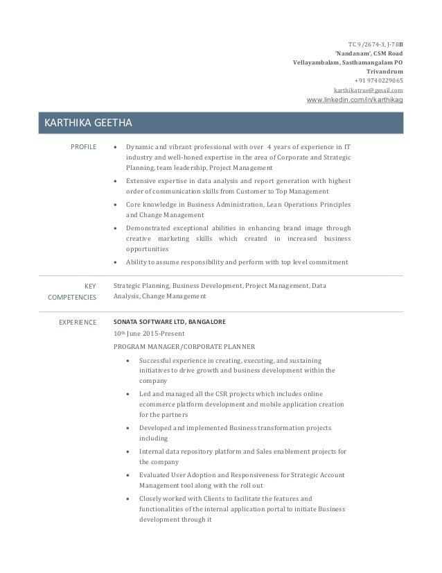 resume updated