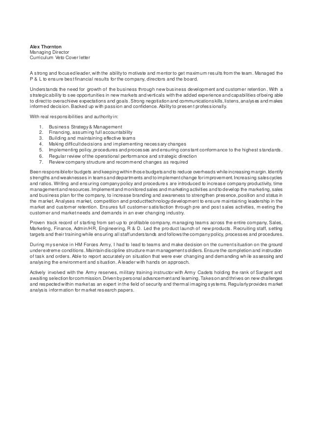 Alex Thornton Managing Director Curriculum Veto Cover Letter A Strong And  Focused Leader,with The