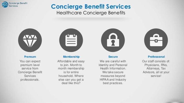 Healthcare Concierge Proposal