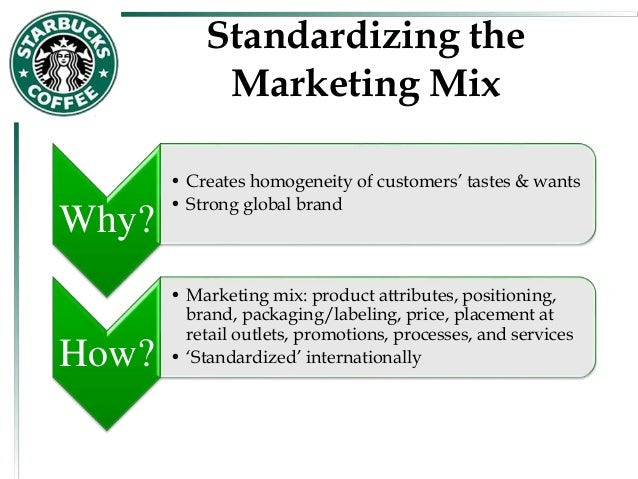 products and services description of starbucks