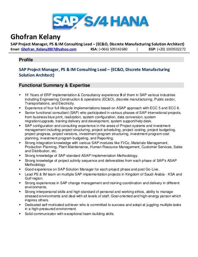 ghofran kelany recent updated resume