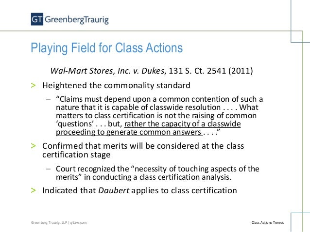 Class Actions Trends - An Overview of Recent Trends Involving Class A…