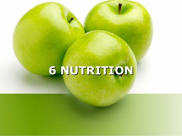 6 NUTRITION6 NUTRITION