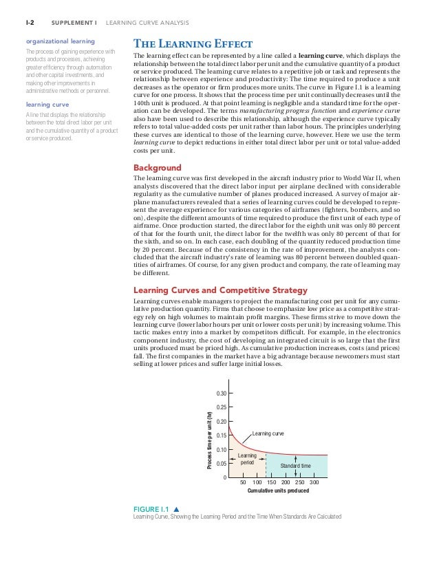 leaning curve analysis Commercial complete - the learning curve  automating your analysis methods automating the creation of the final narrative if you are to really automate, you .