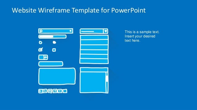 SlideModel.com - Website Wireframe PowerPoint Template